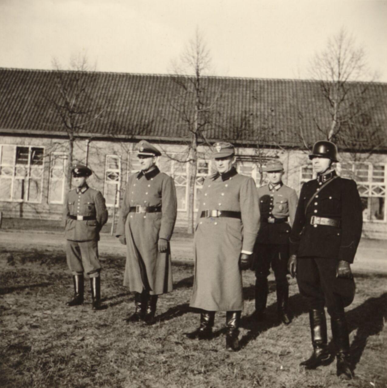 1942. The German Ordnungspolizei, also called Grüne Polizei